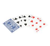 truco de magia apoyos de ojos prueba de la tarjeta