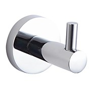 "YALI.M®,Robe Hook Chrome Wall Mounted 45 x 53 x 63mm (1.77 x 2.08 x 2.48"") Brass Contemporary"