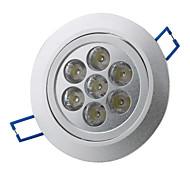 7W 7 * 1w белый 7 под руководством потолка вниз лампочку 6000-6500K (85-265В)