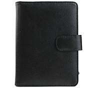Premium PU Leather Case for Kindle 4 (Black)