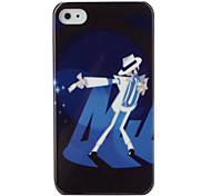 Protective Hard ABS Case for iPhone 4 and 4S (Dancer)