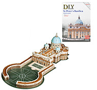 Vaticano St. Peter's Basilica 3D DIY Puzzle