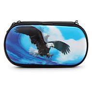 3d de protección del águila Correa caso de PSP 1000, 2000 y 3000 (azul)