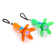 Colorful Flower Shape LED Flashlight with Hand Strap (Random Color)