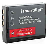 Ismart Digital Camera Battery for Casio EX-ZR100, EX-H30
