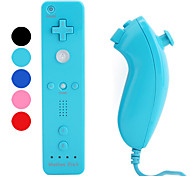 MotionPlus Remote and Nunchuk Controllers for Wii/Wii U (Retail Box, Assorted Colors)