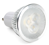 Focos LED Regulable MR16 GU10 6W 3 LED de Alta Potencia 310 LM Blanco Natural AC 100-240 V