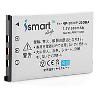 Ismart Digital Camera Battery for Casio Exilim Care EX-S Series,Exilim EX-M Series and More