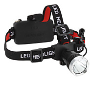 LED Flashlights/Torch / Headlamps LED 3 Mode 160 Lumens Waterproof / Rechargeable / Super Light / Compact Size / Small Size Cree XM-L T6