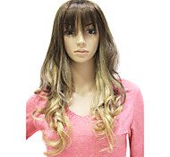 Capless Long Synthetic Curly Wig
