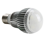 5W E26/E27 LED Globe Bulbs A60(A19) 5 High Power LED 480 lm Natural White AC 220-240 V
