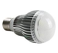 Bombillas LED de Globo A60(A19) E26/E27 5W 5 LED de Alta Potencia 480 LM Blanco Natural AC 100-240 V