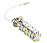 H3 68 SMD LED White 220Lm Car Fog HeadLight Bulb 12V