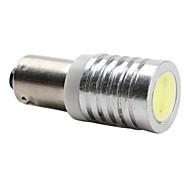 50lm Ba9s 1W LED ampoule blanche éclairage de la voiture (12V DC)-paire