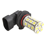 9005 5050 SMD 27-LED 1.5W 1300MA White Light Bulb for Car (DC 12V)