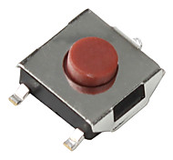 Tact Switch for Electronics DIY (50 Pieces a pack, 6x6x3.1mm)