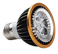 Focos E27 4.0 W 4 LED de Alta Potencia 360 LM 6000-6500K K Blanco Natural AC 85-265 V