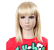 Top Grade Synthetic Sweat Straight Blonde Children's Wig