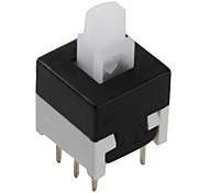 6 pinos interruptor tato (não-bloqueio, 20 peças por embalagem, 8.5x8.5mm)