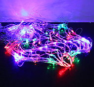 1m 120-led buntes Licht 8 Funkenbildung Modi Spinnennetz geformten String Märchen Lampe (220V)