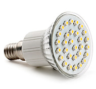 E14 / GU10 / E26/E27 30 SMD 3528 90 LM Warm White / Natural White PAR38 LED Spotlight AC 220-240 V