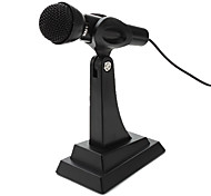 Desktop Adjustable Multimedia Microphone (Silver)