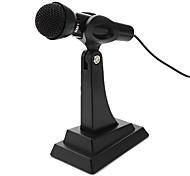 Microfono da tavolo regolabile multimediale (argento)