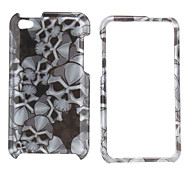 Protective Cool Skull Design Full Body Case for iPod Touch 4