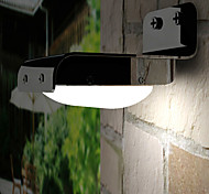 16-LED White Light LED Solar Light Sound Sensor Wall Garden Light