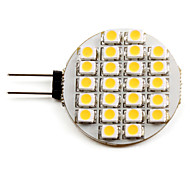 G4 1 W 24 SMD 3528 50 LM Warm White Spot Lights DC 12 V