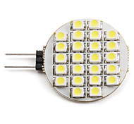 1.5W G4 Focos LED 24 SMD 3528 60 lm Blanco Natural DC 12 V
