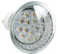 Focos LED MR16 GU10 1W 15 LED Dip 75 LM Blanco Cálido AC 100-240 V