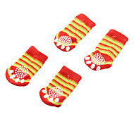 Funky Style Comfort Cotton Socks for Dogs (S - XL, Random Colors)