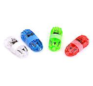 carro lâmpadas a laser em forma de dedos (4 peças)