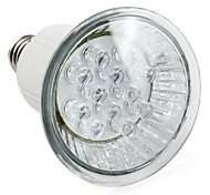 1W E14 / E26/E27 Focos LED MR16 12 LED de Alta Potencia 60 lm Blanco Natural AC 100-240 V