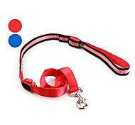 cane di stile del modello nylon portato guinzaglio del cane (120cm/47inch, colori assortiti)