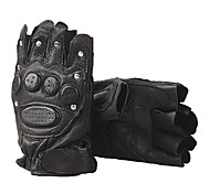 Half Finger Leather Tactical Gloves