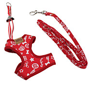 Pet Body Harness and 4ft Leash for Dogs (M, 15-17inch)