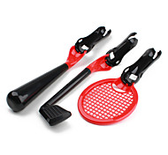 3-in-1 Sports Pack for PS3 Move (Golf, Tennis and Baseball Bat)