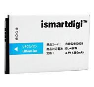 iSMART 1280mah bateria para lg optimus me P350