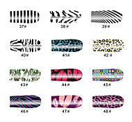 Lips 14 Tips Nail Art Stickers
