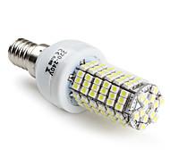 5W E14 / G9 / E26/E27 Bombillas LED de Mazorca T 120 SMD 3528 400 lm Blanco Natural V