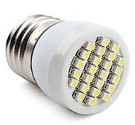 Focos LED E26/E27 1W 24 SMD 3528 80 LM Blanco Natural V