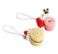 Donut Ice Cream Keychain Keychain (Random Colors)