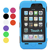 Anti Shock Defender Case with Screen Guard for iTouch 4 (Assorted Colors)