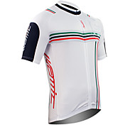 Santic-Cycling Jersey Short Sleeve 100% Polyester (White)