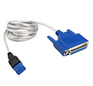 USB to Parallel Cable (Blue,Black 1.5M)