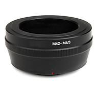 favor de la lente M42 a las micro 4/3 adaptador de e-P3 e-PL2 E-P2 E-PL1 E-P1 G1 G2 G3 GF2 GH2 GF3