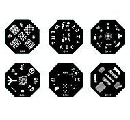 Originali decorazioni per unghie - Serie Q