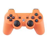 mando inalámbrico SIXAXIS para ps3 (naranja)